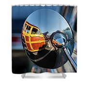 A Ford Woody Shower Curtain