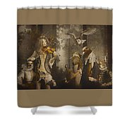 A Forest Overture Shower Curtain