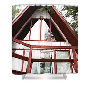 A-frame Shower Curtain