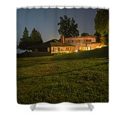 A Frank Lloyd Wright Home On Lake Champlain Shower Curtain