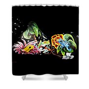 A Frogs Life Shower Curtain