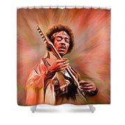 A Fun Day Shower Curtain