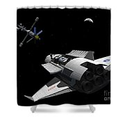 A Future Generation Space Shuttle Shower Curtain