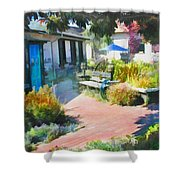 A Garden In Harmony Shower Curtain