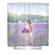 A Garden Of Delights Shower Curtain