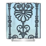 A Gate On Indian Canyon Drive Shower Curtain