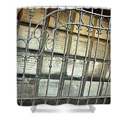 A Gate To The Dead Shower Curtain