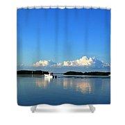 A Glass Sea Shower Curtain