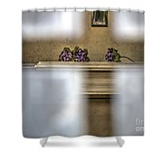 A Glimpse Into A Tomb Shower Curtain
