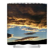 A Glorious End Of Day Shower Curtain