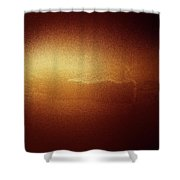 A Glow Of Sunrise  Shower Curtain