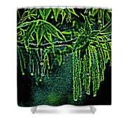 A Glow With Dew Shower Curtain