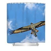 A Good Day Fishing Shower Curtain
