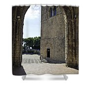 A Gothic View II Shower Curtain