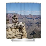 Grand Canyon Viewpoint Shower Curtain