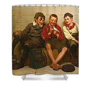 A Great Find Shower Curtain