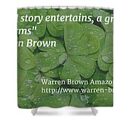 A Great Story Shower Curtain