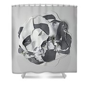 A Grey Area Shower Curtain