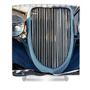 A Grille With A Smile Shower Curtain