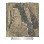 A Group Of Poor Clares Shower Curtain