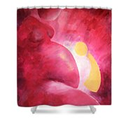 A Growing Love Shower Curtain