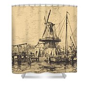A Haarlem Shower Curtain
