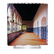 A Hall With History Shower Curtain