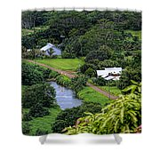 A Hanalei View Shower Curtain
