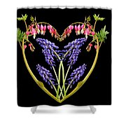 A Heart Of Hearts Shower Curtain