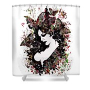 A Hell To Pay Shower Curtain