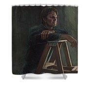 A. Hervold Shower Curtain