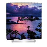 A Hilo View Shower Curtain