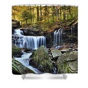 A Hint Of Autumn Shower Curtain