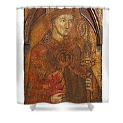 A Holy Bishop Shower Curtain