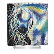 A Horse In My Keeping ... Shower Curtain