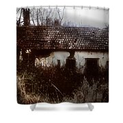 A House In The Woods Shower Curtain
