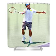 A Hug From Roger Shower Curtain