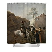 A Huntsman Shower Curtain
