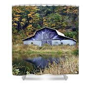A Is For Autumn Shower Curtain