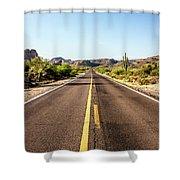 A Journey Through Arizona Shower Curtain