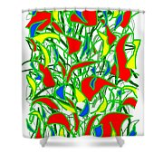A Jungle Out There Shower Curtain