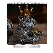 A King For A Day Shower Curtain