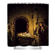 A King Is Born Shower Curtain