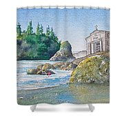 A Kingdom By The Sea Shower Curtain