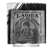 A Ladies Memories Shower Curtain