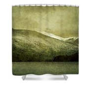 A Lake In Patagonia Shower Curtain