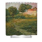 A Landscape In Vicinity Of Strijigorod Shower Curtain