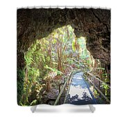 A Last Look Back Shower Curtain