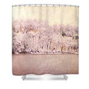 A Late Winter Xiv Shower Curtain