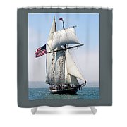 A Life At Sea Shower Curtain